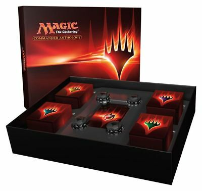 Magic Commander Anthology Set (Englisch) Magic the Gathering MTG Decks Box Card