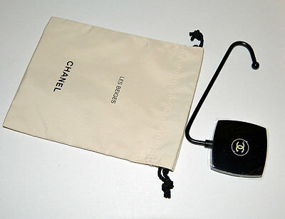 NEW VIP gift from Chanel beauty boutique portable hook bag holder in poach NEW