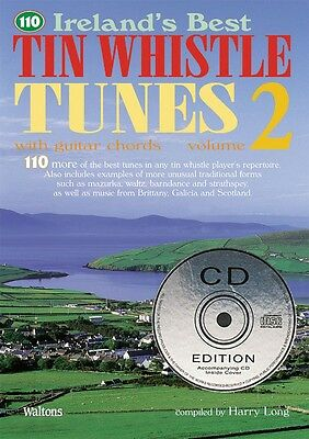 110 Ireland's Best Tin Whistle Tunes Volume 2 with Guitar Chords 000634223
