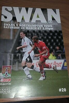Swansea City V Northampton Town 24Th March 2007 League One