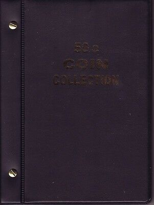 VST Black  50c. Album is for  Circulated Australian coins new pages 1966 to 2016