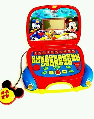 Disney Mickey Mouse Clubhouse Clementoni Laptop ***PRE-OWNED***