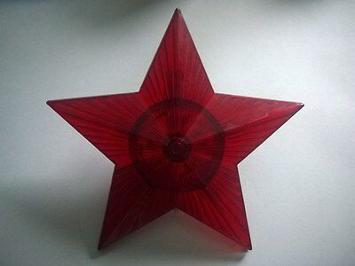 Vintage 60s Russian decoration for the Christmas tree the Kremlin Soviet star