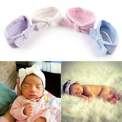 Baby Boys Girls Bowknot Headband Cotton Stretchable Butterfly Knot Hairband #buy
