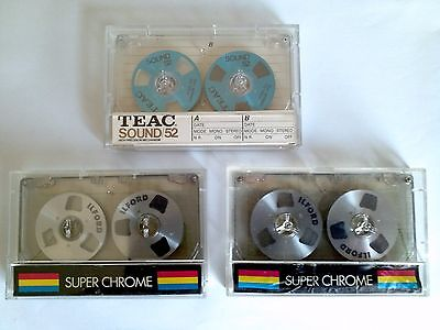AUDIO CASSETTE VERGINI VINTAGE TEAC e IL FORD 1985 STOCK