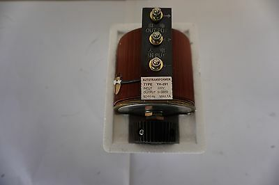 Variac Variable Transformer 220V 0-260 V Single Phase 0.85A 0.22KVA Open case