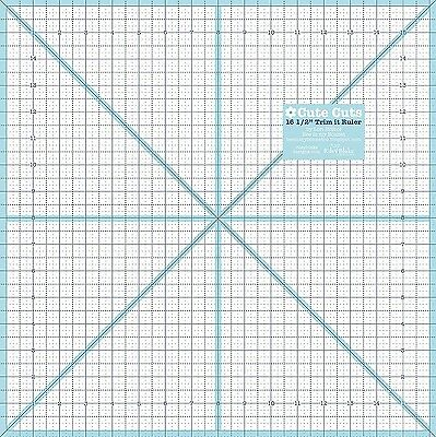 """16-1/2"""" INCH x 16-1/2"""" INCH SQUARE TRIM IT RULER, from Riley Blake Designs *NEW*"""