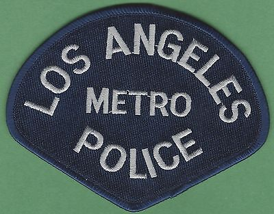 Lapd Los Angeles California Metro Division Police Patch
