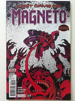 Magneto (2014) #19 Cover A Cullen Bunn Secret Wars Last Days Nm 1St Printing