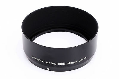Rare Contax Metal Lens Hood GB-76 for Carl Zeiss Planar T* 50mm f1.4 AF N1 Lens
