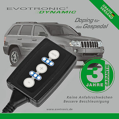 Gas Pedal Box / Evotronic / Jeep / Grand Cherokee (Wh) / 3.0 Crd / 160 Kw