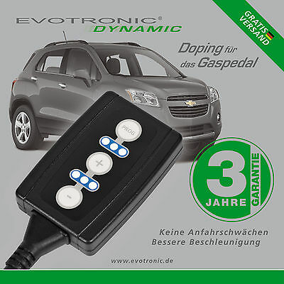 Evotronic / Pedalbox / Chevrolet / Trax / 1.7 Td / 96 Kw