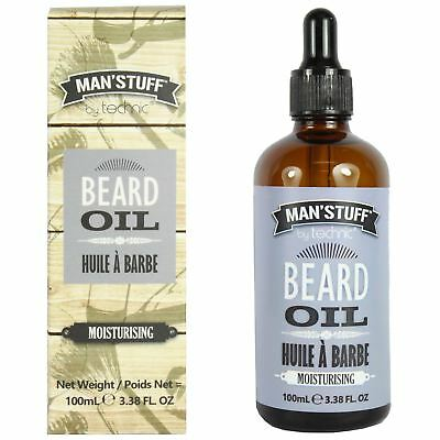 Technic Man'Stuff Moisturising Beard Oil With Argan Oil Gift Set 100ml
