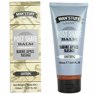 Technic Man'Stuff Soothing Post Shave Balm After shave Gift Set 150ml