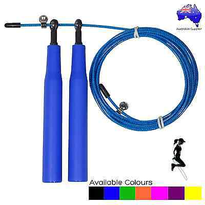 Speed Jump Rope Super Fast High Grade Metal Bearings Double and Triple Unders