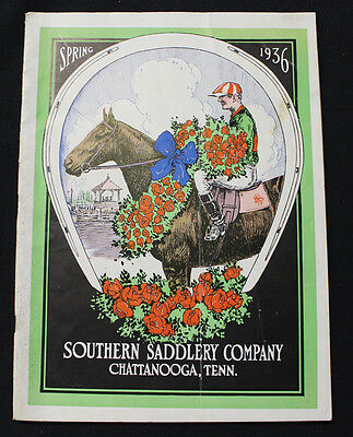 1936 Southern Saddle Company ILLUSTRATED CATALOG Chattanooga Collectors L@@K