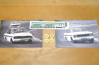 Transkit 1:43 Ford Cortina Lotus Graham Hill / Jacky Ickx 1967