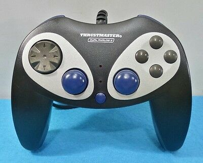 Mando Thrustmaster Compatible Ps3 Ps2 Pc Con Cable Joypad Usb Dualshock Negro