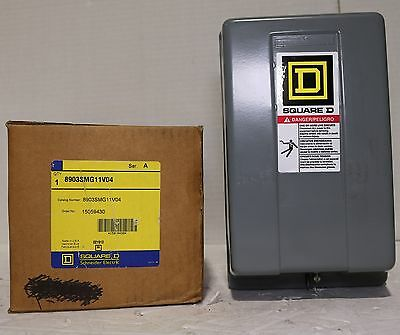 Brand New Square D 8903SMG11V04 (227 Volt) Lighting Contactor In Original Box