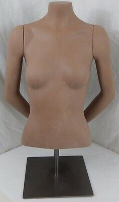 Fusion USA 4623 Female Torso Hands In Back - Store Clothing Display Mannequin