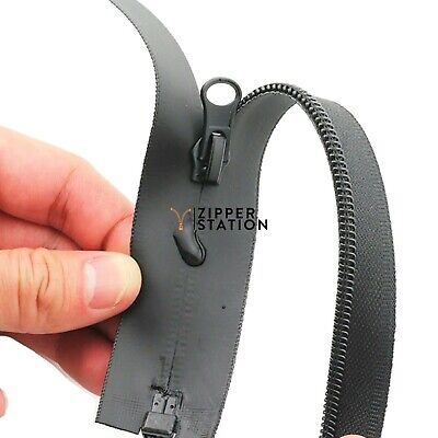 70cms to 85cms Waterproof Zips, open end. Black, Navy, Red and Grey. FREE P&P