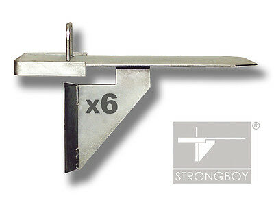 6 STRONGBOYS ® Acrow Prop attachments X 6 - GENUINE  -  VAT receipt provided