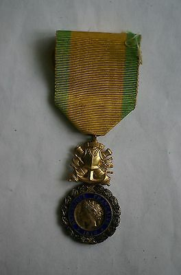French Medaille Militaire (Military Medal) for bravery in excellent condition
