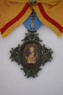 Rare Japanese Order of the Sacred Crown 6th Class, only awarded to women