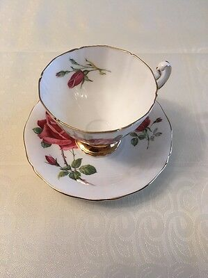 Royal Adderley Fine bone china teacup and saucer in excellent condition