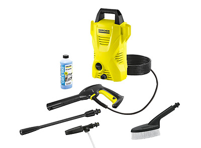 Karcher K2 Basic Exclusive Pressure Washer with Accessories Hose Jet Cleaner
