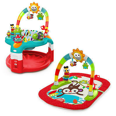 Baby 2 In 1 Silly Sunburst Activity Music Gym & Saucer Bright Starts Play Mat