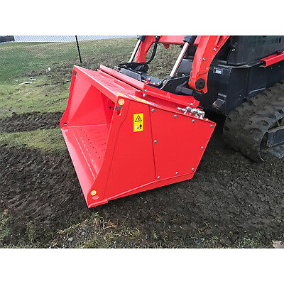 Skid Steer Reinforced Concrete Crusher Attachment by Eterra