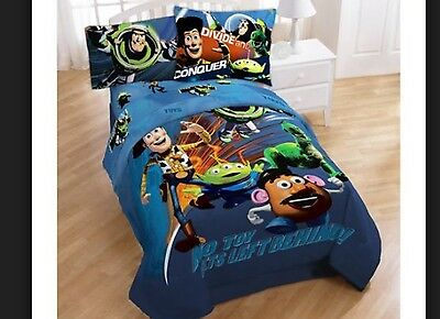 Toy story Twin/full bedding comforter + 2 sheets for kids bed  NOT pillow Cases
