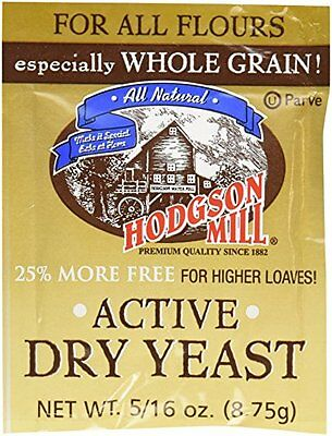 Hodgson Mills Active Dry Yeast, 9 Gram (Pack of 48)