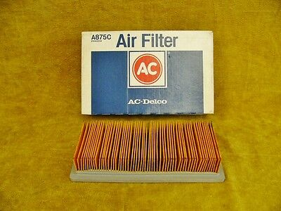 AC Delco Air Filter A875C