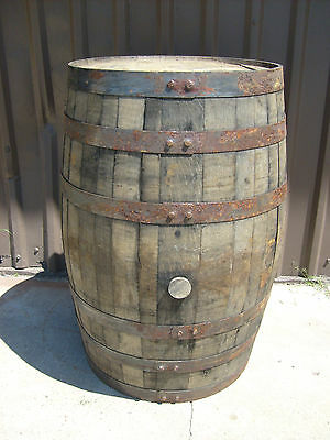 "Real Jack Daniels Whiskey Barrel ""Straight From the Barrel House"" FREE SHIPPING"