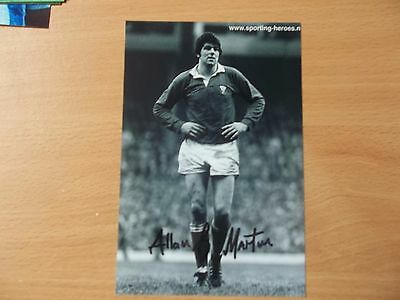 Allen J. Martin, British & Irish Lion Rugby Player, Signed 6 X 4 Photo