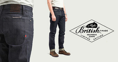 British Made Maple Motorcycle Jeans - Kevlar-Final batch-Retail £189 - £300