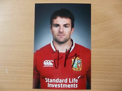 Jered Payne, British & Irish Lion Rugby Player, Signed 6 X 4 Photo