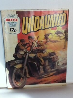 Battle Picture Library War Comic 'Undaunted' (Issue 1123)