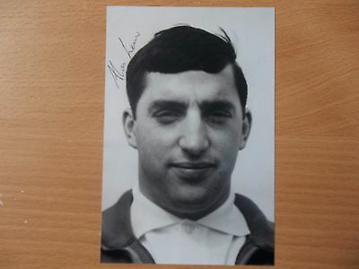 Allan Lewis, British & Irish Lion Rugby Player, Signed 6 X 4 Photo