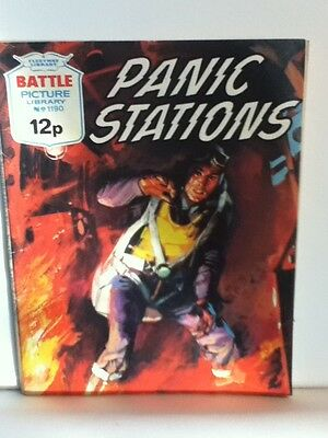Battle Picture Library War Comic 'Panic Stations' (Issue 1190)