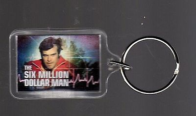 The Six Million Dollar Man..     Keyring / Keychain