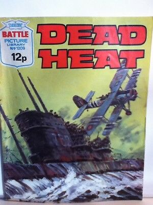 Battle Picture Library War Comic 'Dead Heat' (Issue 1209)