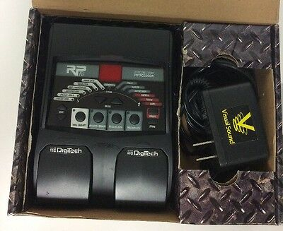 Digitech RP70 Modeling Guitar Processor With AudioDNA2 DSP