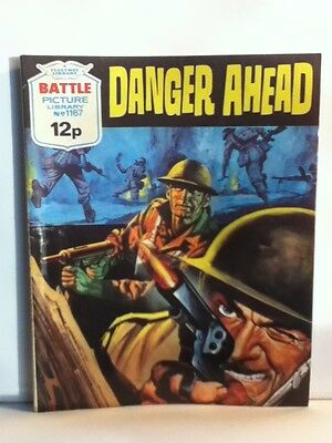 Battle Picture Library War Comic 'Danger Ahead' (Issue 1167)