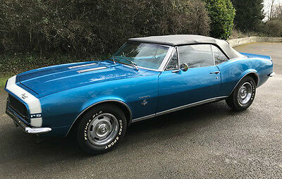 1967 Chevrolet Camaro RS convertible V8 5.3lt. Stunning Show Condition