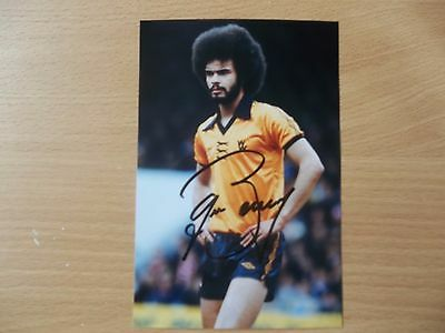 George Berry, Wolves Footballer, Signed 6 X 4 Photo