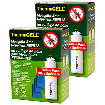 ThermaCELL Mosquito Area Repellent Refill Value Pack Insect Protection