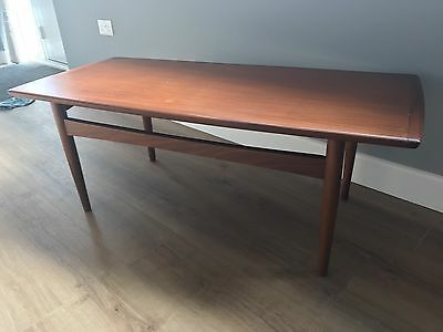 Teak Coffee Table Vintage  Danish Ercol Gplan Mid Century Retro